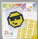 Pixel kulcstartókészítő szett 1 kulcstartó alaplappal, 3 színnel, majom