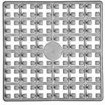 Pixelnégyzet - 561 ezüst