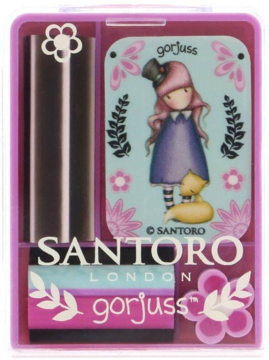 Santoro Gorjuss, radír készlet, Fiesta The Dreamer