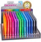 Zseléstoll, színes tintával, 0,7mm, Serve Berry, többféle színben