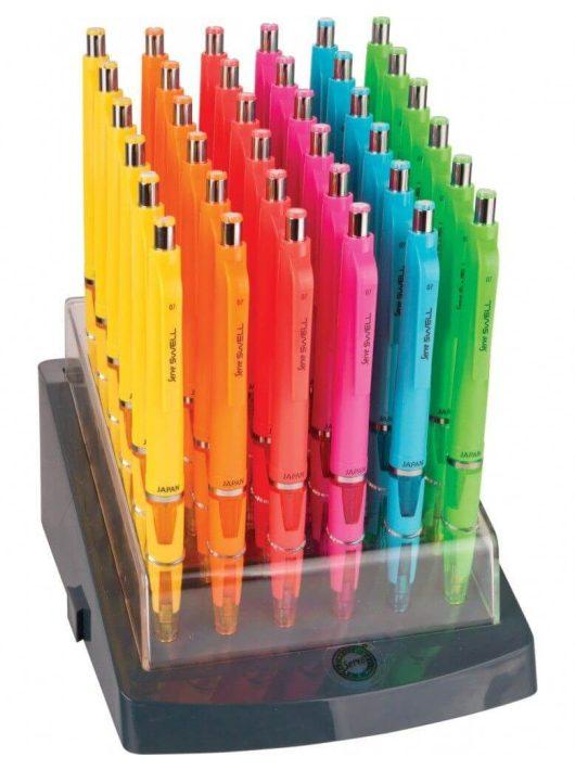 Töltőceruza, mechanikus ceruza 0,5mm Serve Swell School, radírral, többféle színben