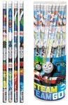 Thomas grafitceruza radírral, HB, kék és narancs, 1db