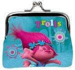 Trolls pénztárca, csatos, 10x8 cm
