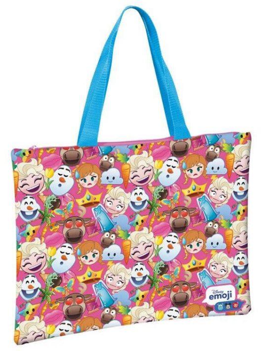 Jégvarázs emoji bevásárló táska, 42x34cm