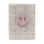 Smiley, emoji napló A/5, csillogó