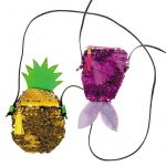 Starpak Party válltáska, ananász vagy hal, 22x12cm, kétféle változat