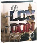 London emelőkaros iratrendező, A/4, 70mm