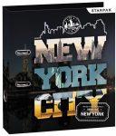 New York City emelőkaros iratrendező, A/4 70mm