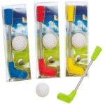 Radír Golf szett, 2db/csomag, 4 féle változat