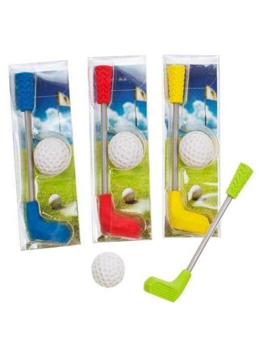 Radír Golf szett, 2 db/csomag, 4 féle változat