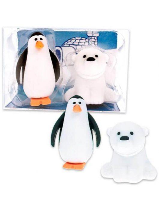Radír Pingvin és Jegesmedve szett