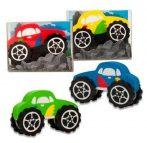 Radír Monster autó, 4 féle szín