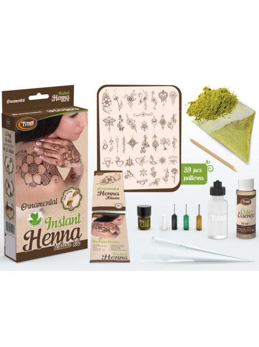 Henna Ornamental szett