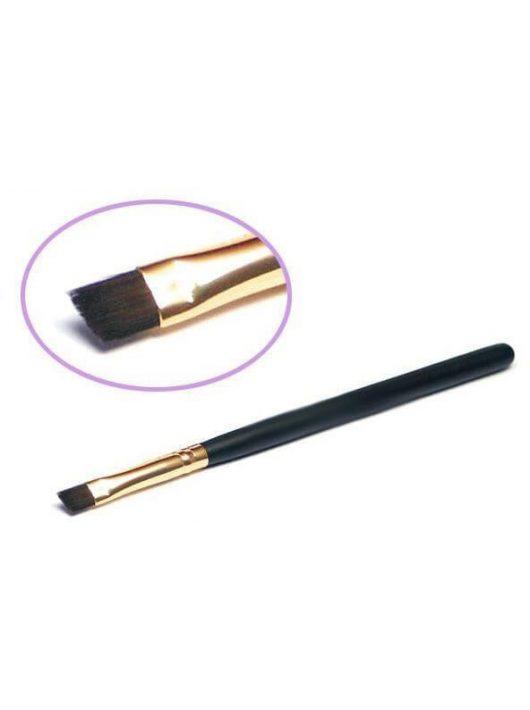 Ecset, csillámtetoválás készítéséhez, 5mm, lapos, ferde, műszőr