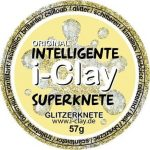 I-Clay intelligens gyurma, csillogó, arany