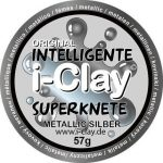 I-Clay intelligens gyurma, metáll, ezüst
