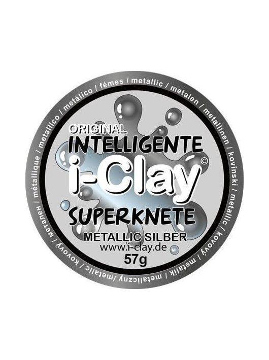 I-Clay intelligens gyurma, metál, ezüst