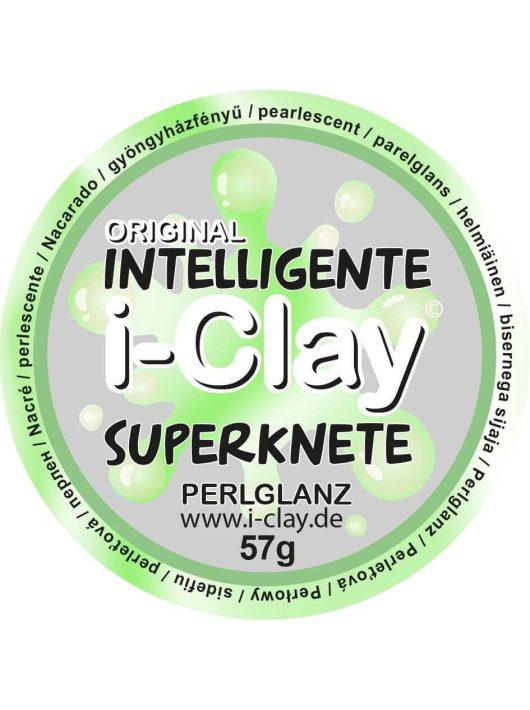 I-Clay intelligens gyurma, gyöngyházfényű, zöld