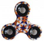 Fidget Spinner, ujjpörgettyű, mintás, csillag