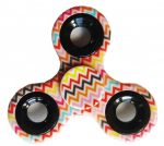Fidget Spinner, ujjpörgettyű, mintás, cikk cakk