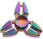 Fidget Spinner, ujjpörgettyű, Ninja Rainbow, cink