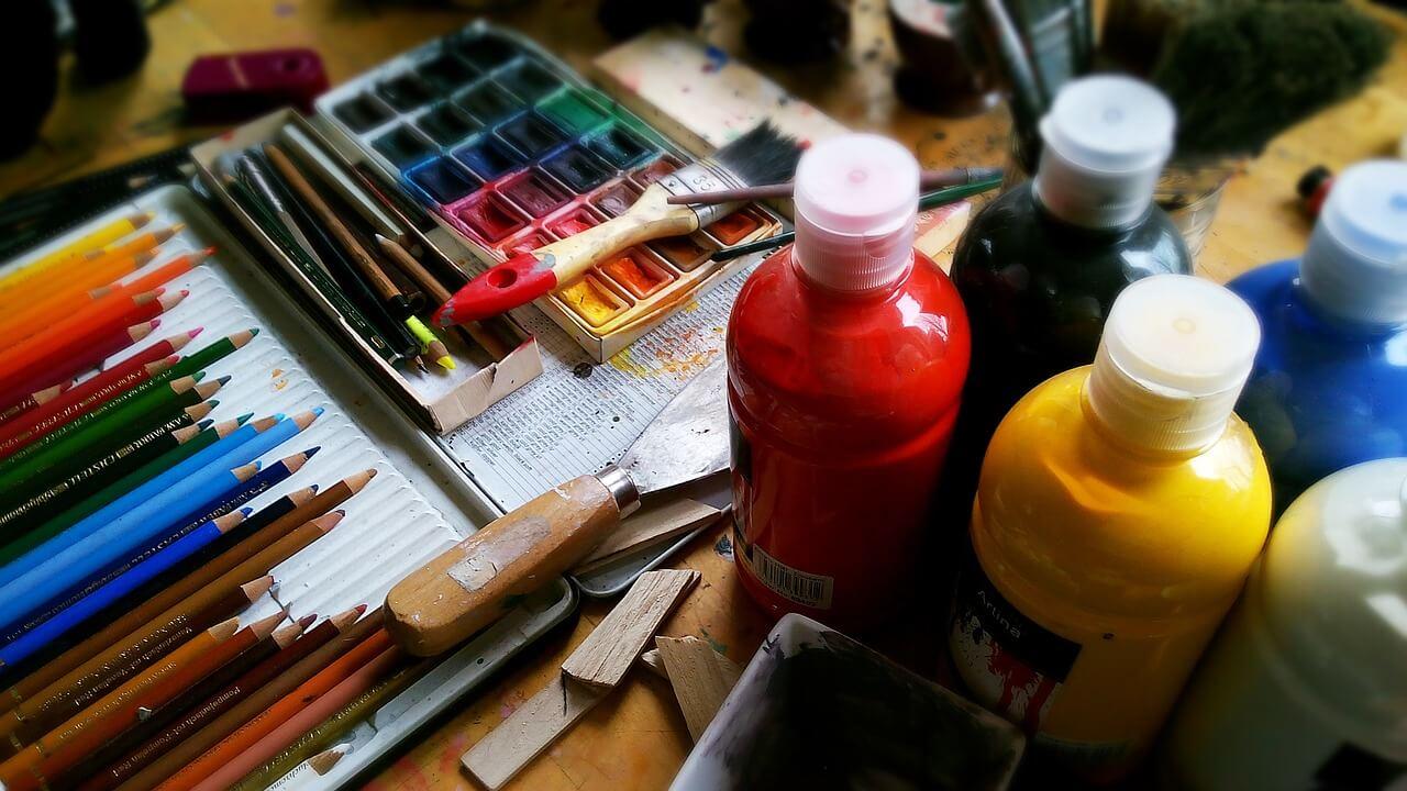 Akril festék használata gyerekeknek