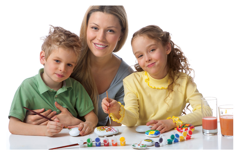 Kreatív játékok gyerekekkel