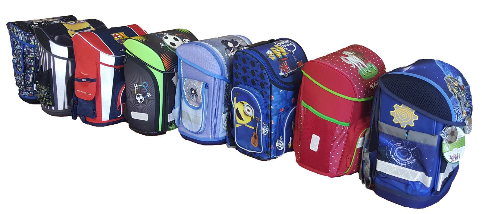 3a75248e856b Gyakori probléma, hogy fénykép és leírás alapján nehéz elképzelni, hogy  valójában mekkorák a táskák, elég nagy lesz-e, belefér-e minden iskolaszer.