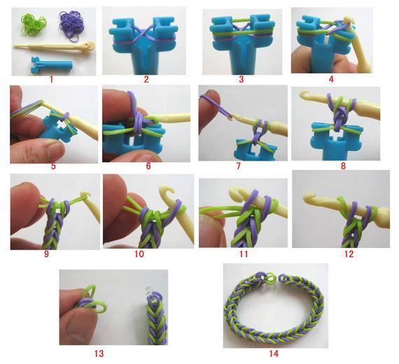 outlet butik egyedi kialakítás lábakon Gumikarkötő készítése - Kids Office Trade